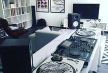 home studio dj