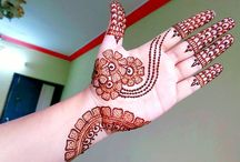 Bridal mehendi designs hands