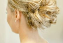Coif / Verb: to arrange (the hair)  updos I love!