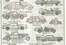 Autó - keresztszemes