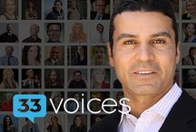 33voices Interview Series with Moe Abdou / Series about business, entrepreneurship, & life