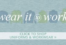 Work It! Workwear & uniforms we love! / Workwear & uniforms we love! Every single item is something our staff would be happy to rock at work.