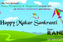 Happy Makar Sankranti / Random Soft Solution wishing you very very HAPPY MAKAR SANKRANTI...