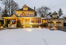 Winter Wonderland / Some of our listings sprinkled with snow...