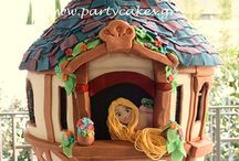 Rapunzel / Tangled Cakes