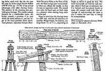 Carpintería y Ebanistería / Planos, técnicas, ejemplos, ideas creativas para muebles