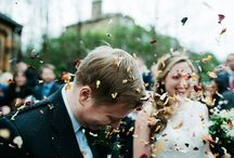 key moments of a wedding day / parts of the day that many bride & groom's plan for; confetti shots, first kisses, the grand entrance to the reception.