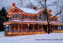 A big white house / Dillon promised Sadie when they were little kids that he was going to buy her a big white house with lots of rooms for all their babies. The house in the book is a real house called the Page-Vawter house.