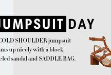 Daytime Jumpsuits / www.shoptiques.com/look-books/daytime-jumpsuits