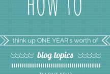 DESIGN | blog and business tips / by Heather Price