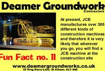 JCB Fun Facts by Deamer Ground Work Contractors of St Albans