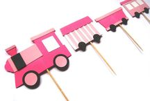 pink train party