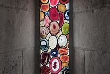stained and colored glass windows