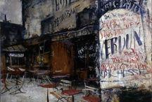 佐伯祐三 SAEKI Yuzo 1898-1928 / 私の日本人洋画家で一番好きな画家、佐伯祐三 SAEKI Yuzo 1898-1928  パリを描き、もがき苦しみ、掴んだ佐伯美術世界  没後80年以上が経過した今日もなお多くの人を魅了し続けている!  http://www.city.osaka.lg.jp/contents/wdu120/artrip/saeki.html