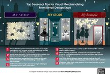 Visual Merchandising at Christmas / all things VM at Christmas time