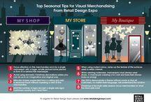 Visual Merchandising at Christmas / all things VM at Christmas time