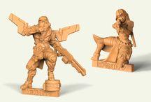Barruz Studio 3D Wargame Miniatures / Our 3D wargame miniatures