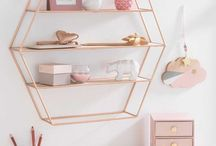 Dressing tables and accessories for make up storage