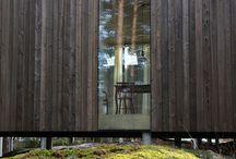 driftwood Screen for frontyard