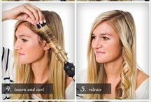Hair / How to curl / by Sarah Maxwell