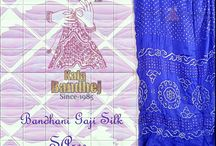 Bandhani Gaji Saree / WElcome To Bandhani World