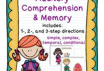 Auditory comprehension