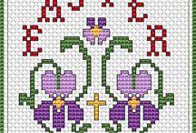 Mamcsi x-minták húsvét