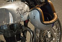 Royal Entfield #caferacer #motos #motorcycles