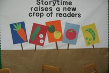 Library - bulletin boards & displays