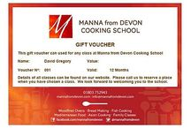Gift Vouchers / Presents for people you love available online now.Available for all our cooking classes. From Indian & Asian food, through Mediterranean dishes, Tapas to Breadmaking and Fabulous Fish. There is a course for everyone.