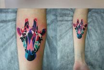 Colour Tattoos We Love / A collection of Colour Tattoos that we love over at Stag & Raven. We are the largest seller of Tattoo Art in the UK working with over 50 Tattoo Artists and Creatives.