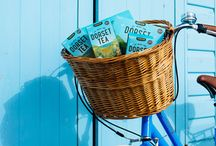 Get on Your Bike / We love spring, the longer evenings give us the chance to get on our bikes after a hard day brewing our delicious tea. We want to share our love of the cycling and give you the chance to win one of 5 Pendleton bikes in lovely Dorset Tea blue - enter here https://www.dorsettea.co.uk/competitions/win-a-bike/