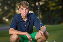 Connor golf pics sr. session