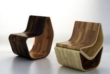 wood bending chair