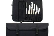 Knife Cases and Rolls / Tote your cutlery in one of these many cases and rolls.