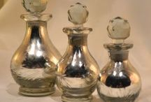 Glass Silver Decanter