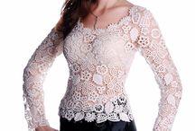 Irish Crochet / crochet / by wafaa ali