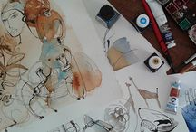 Exhibition in Milan, Spazio 81 showroom, Wallpepper / On Thursday September 24, my solo exhibition in Milan, at Showroom Wallpepper: great! My watercolor illustrations about fantastic journeys, Japan, Africa, New Zeland, and animals, nature, fashion design...