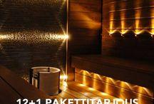 luces p sauna