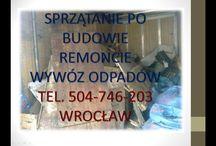 wywóz odpadów po remoncie,tel504-746-203, wywóz odpadów z budowy, wywóz gruzu Wrocław / tel. 504-746-203, Wywóz odpadów po remoncie i budowie. Wrocław, Wywieziemy pozostałości po prowadzonych remontach, wywóz starych tapet, gruzu w workach, wywóz pieca, wywóz starego parkietu, starych palet, gruz workowany, opakowań, niepotrzebne materiały budowlane itp. http://www.omegaplus.home.pl/wroclaw/poremoncie.htm