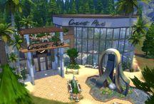 Sims 4 Houses by VetroRetro