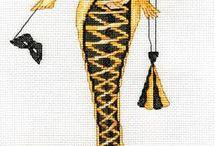 Kobiety,damy-haft krzyżykowy