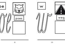 Groep 3 schrijven / Leuke ideeën voor de lees-schrijfhoek
