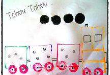 Transport / bricolage sur les moyens de locomotion, les transports...