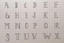 Viết tay/mẫu chữ đẹp/шрифты