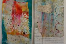 Mixed Media: Paint & Ink & Stain