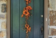 Fall season decor