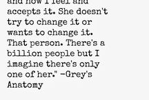 Grey's Anatomy frases