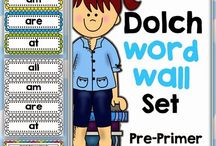 Dolch Word Activities / by Mindy Galvan
