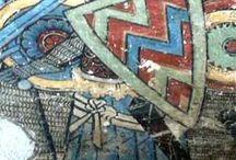 Frescoes - Knights